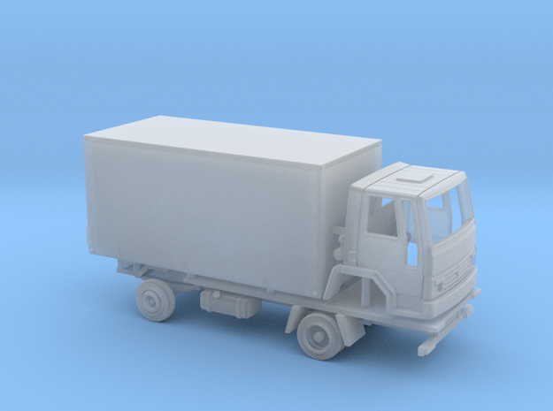 Ford Cargo box truck 1981 - 1:148 in Smooth Fine Detail Plastic