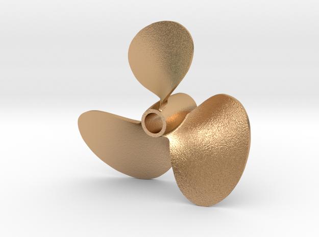 propeller 4 LH anti 16th v2 in Natural Bronze
