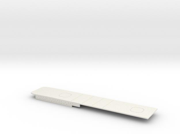 1/700 FlugDeckKreuzer AIII Stern Deck in White Natural Versatile Plastic