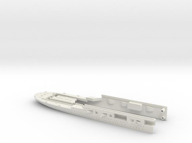 1/700 FlugDeckKreuzer AII Stern (w/out Deck Planki in White Natural Versatile Plastic