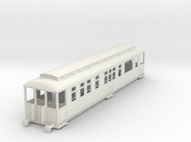 o-43-gcr-inspection-saloon-coach in White Natural Versatile Plastic