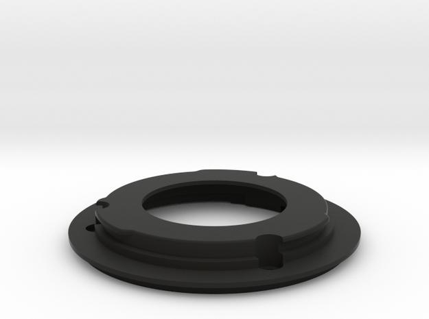 FDn to EF Mount for nFD28mm f/2.8 & nFD50mm f/1.8 in Black Natural Versatile Plastic