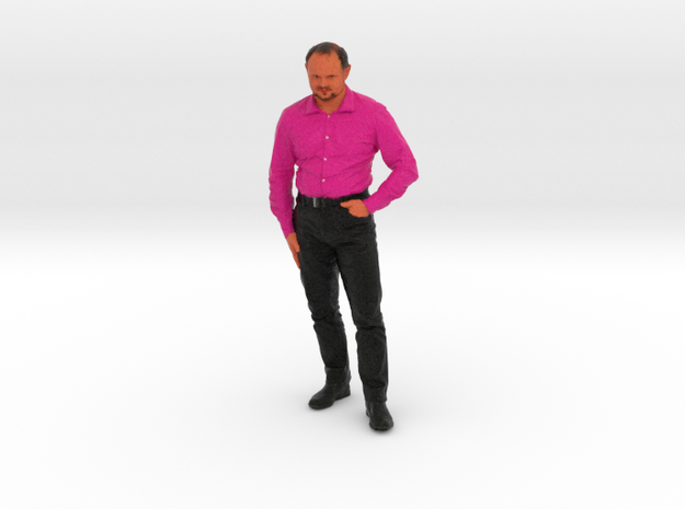 Nischelwitzer 3dfiguren Color 10p in Full Color Sandstone