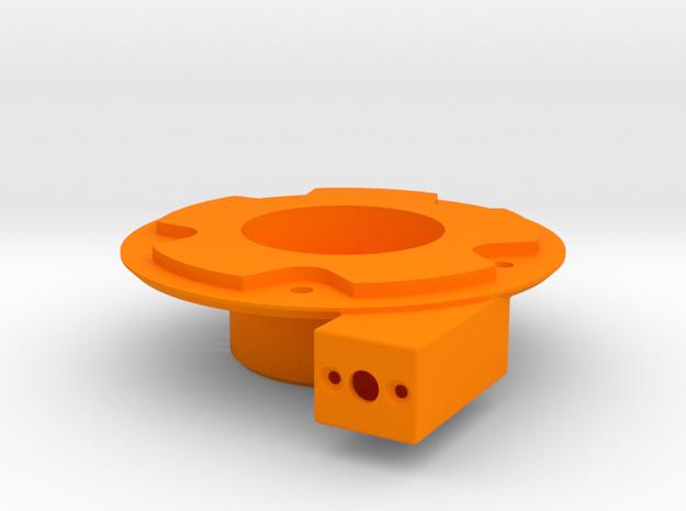 Motorgehäuse für Bruder Schneeschleuder in Orange Processed Versatile Plastic