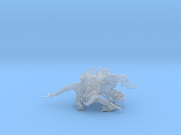 Exodon 01 Zu Meter in Smooth Fine Detail Plastic