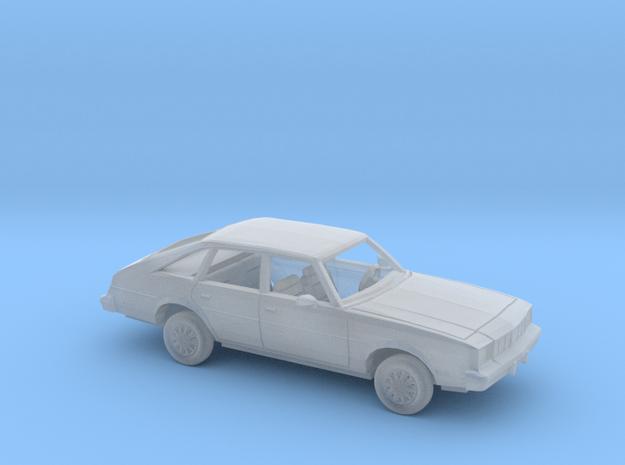 1/87 1979 Oldsmobile Cutlass Salon Sedan Kit in Smooth Fine Detail Plastic