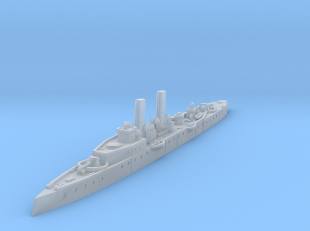 1/1250 HSwMS Psilander Torpedo Cruiser (1899) in Smooth Fine Detail Plastic