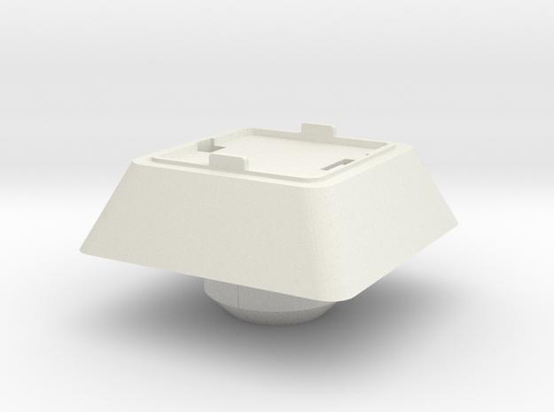 Starcom - Starbase Command - Plattform Starw. Dock in White Natural Versatile Plastic