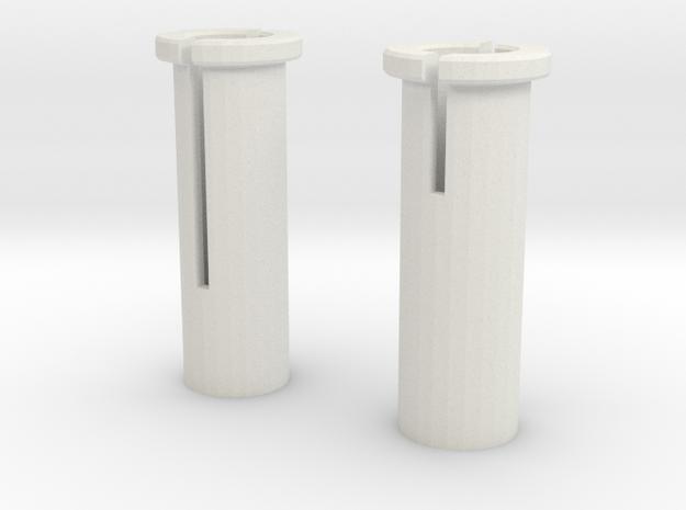 Imperial Shuttle Repair Kit Wing Holder for L / R in White Natural Versatile Plastic