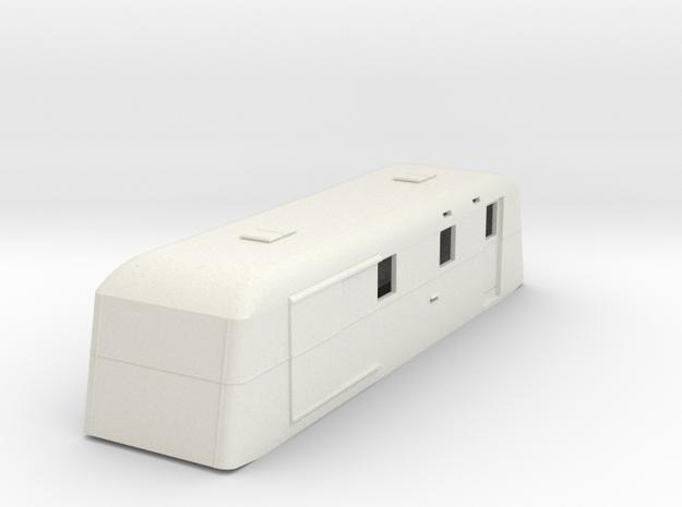 sj64-udf02p-ng-trailer-post-luggage-van in White Natural Versatile Plastic