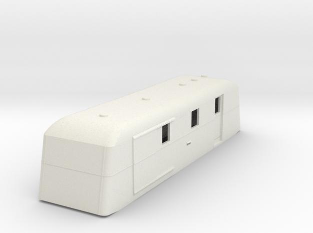 sj64-udf01p-ng-trailer-post-luggage-van in White Natural Versatile Plastic