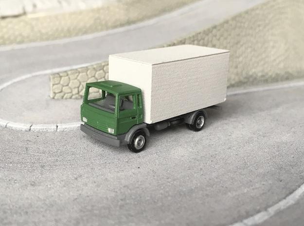 Renault Midliner boxed truck - N 1:160 in Smooth Fine Detail Plastic