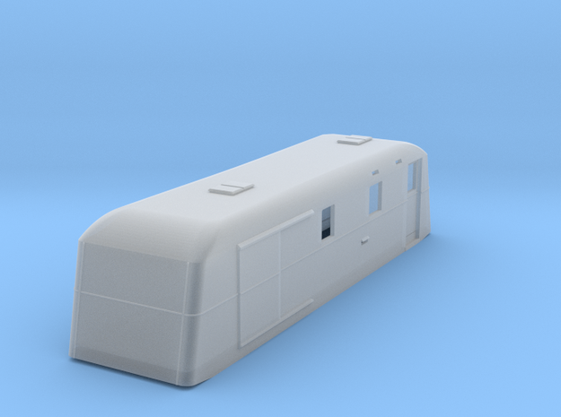 sj160fs-udf01t-ng-trailer-post-luggage-van in Smooth Fine Detail Plastic