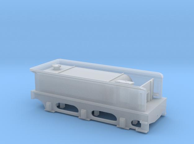 N Gauge Stirling Single Sturrock Tender in Smooth Fine Detail Plastic