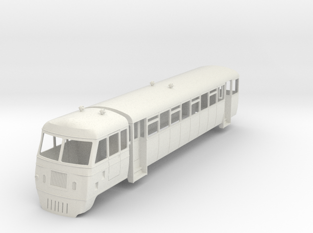 w-cl-32-west-clare-walker-railcar in White Natural Versatile Plastic