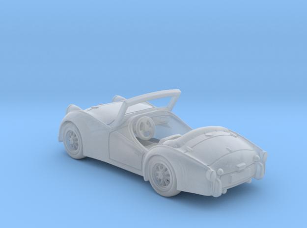 Triumph TR3 1960 1:120 TT in Smooth Fine Detail Plastic