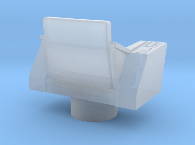 Bridge - Captain's Chair 25 in Smooth Fine Detail Plastic