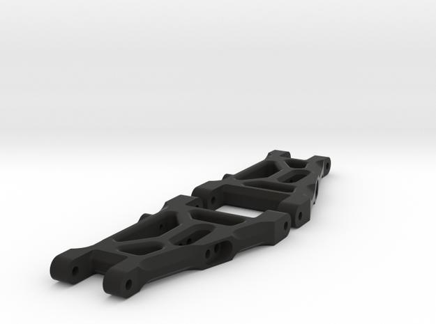 Kyosho Ultima Andys style Wishbone  in Black Natural Versatile Plastic