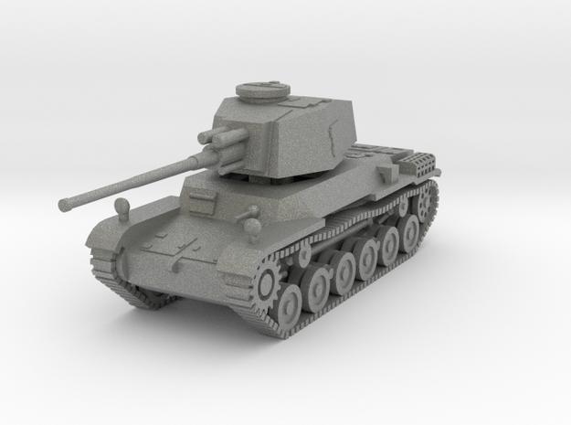 1/144 IJA Type 3 Chi-Nu Medium Tank Long Barrel Se in Gray PA12