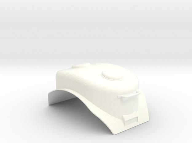 """3/4"""" Scale USRA Heavy Mikado Sand Dome in White Processed Versatile Plastic"""
