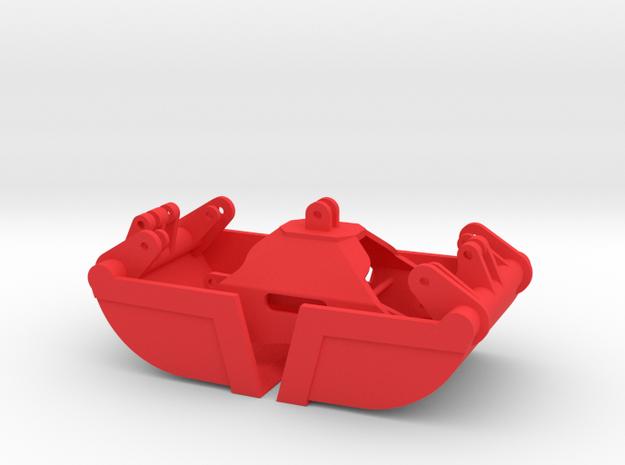 Sandgreifer für Lade- und Forstkran in Red Processed Versatile Plastic