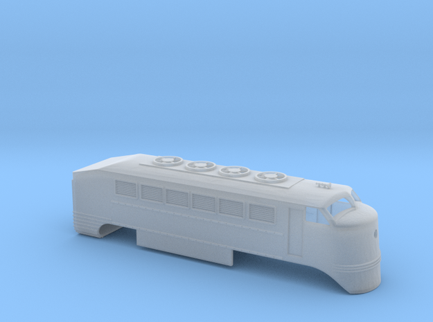 RENFE 350 original version in N scale in Smooth Fine Detail Plastic