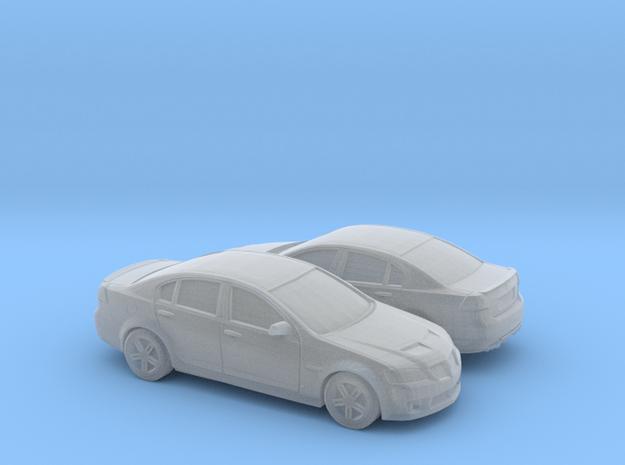 1/144 2007-09 Pontiac G8 Sedan in Smooth Fine Detail Plastic