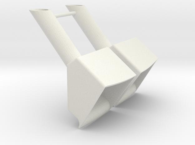 ASD 2811 - anchor pocket (2 pcs) in White Natural Versatile Plastic