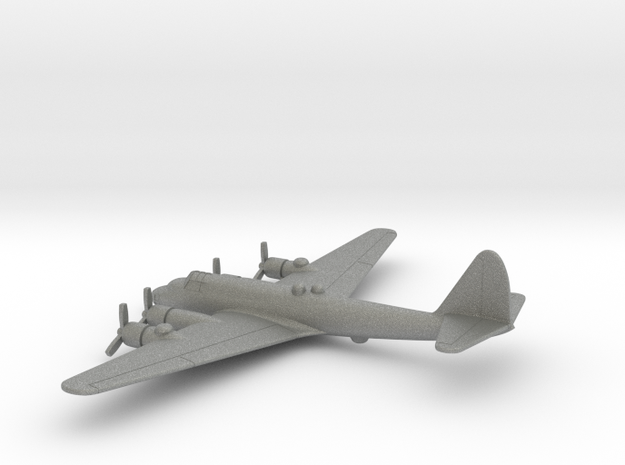Piaggio P.108 (w/o landing gears) in Gray PA12: 1:400