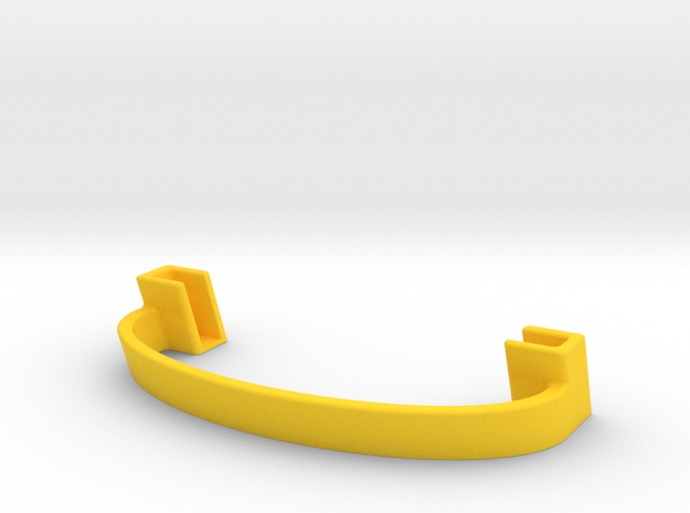 Smart phone Stand in Yellow Processed Versatile Plastic