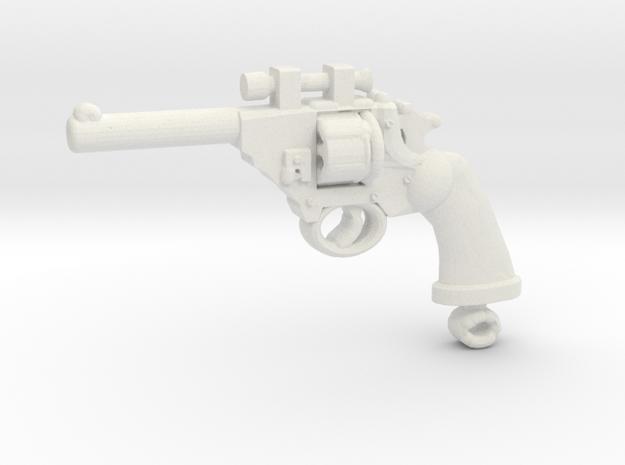 PoliceMK4_Optic revolver in White Natural Versatile Plastic