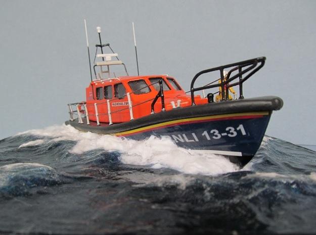 Shannon Lifeboat Full Hull  in White Natural Versatile Plastic