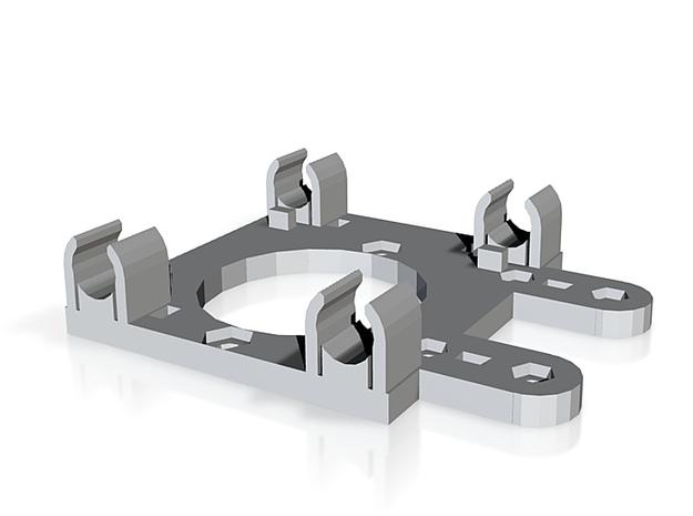 Prusa mendel X carriage 3d printed