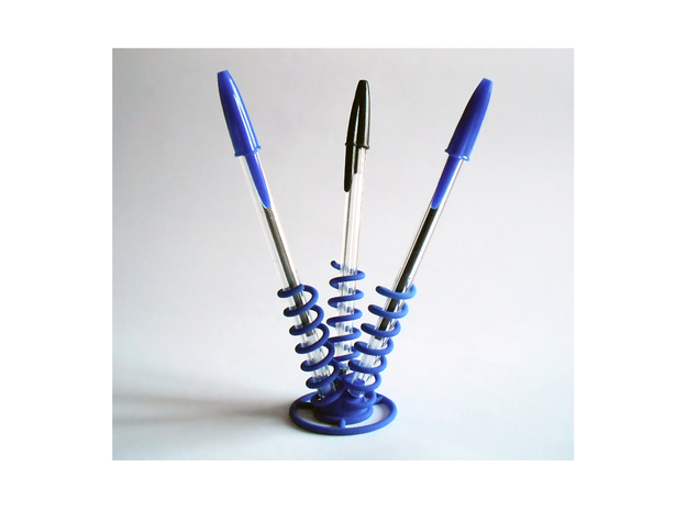 Three Springs Pen Holder