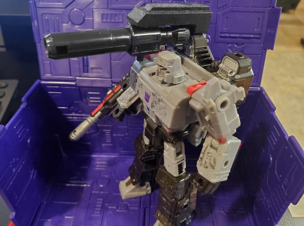 Upgrade for WFC Siege Megatron in White Processed Versatile Plastic