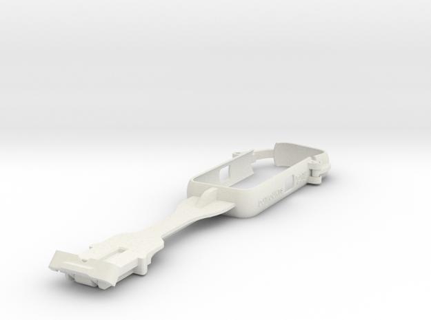 Insta360 One X2 Case on selfieStick in White Natural Versatile Plastic
