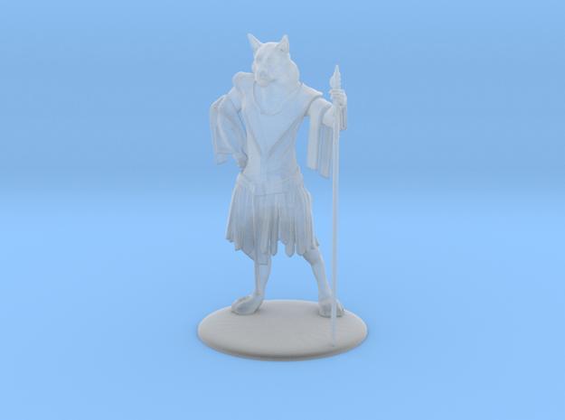 Aslan (Traveller race) Miniature in Smoothest Fine Detail Plastic: 1:60.96
