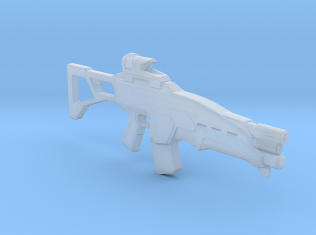 RIF Panther Assault rifle 1:6 in Smooth Fine Detail Plastic
