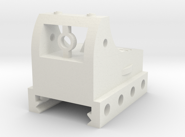Micro Red Dot Sight Mark II for Picatinny Rail in White Natural Versatile Plastic