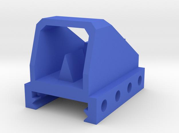 Mini Dot Sight for Picatinny Rail in Blue Processed Versatile Plastic