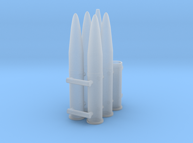 1/35 105mm M1/M2 Howitzer Ammo  in Smooth Fine Detail Plastic