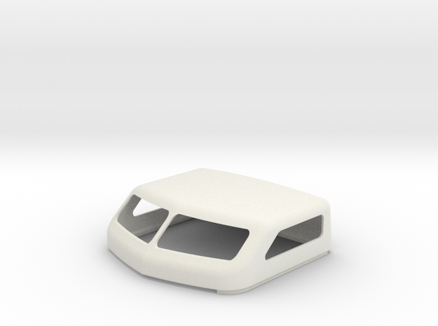 KW 72 Standup Bunk Cap in White Strong & Flexible