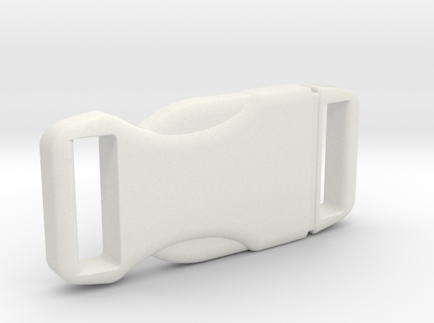 Jedi Belt Buckle in White Natural Versatile Plastic