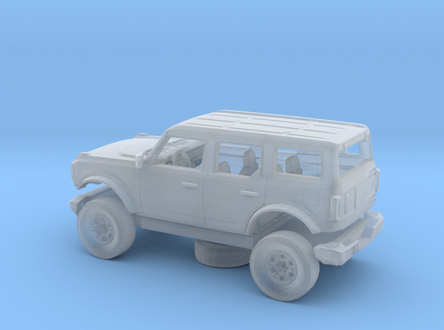 1/87 2021 Ford Bronco 4 Door Kit in Smooth Fine Detail Plastic