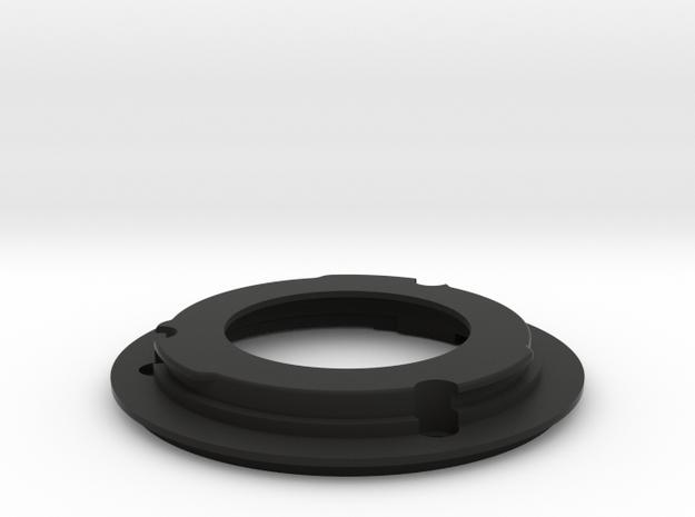 FDn to EF Mount for nFD100mm f/2.8 in Black Natural Versatile Plastic