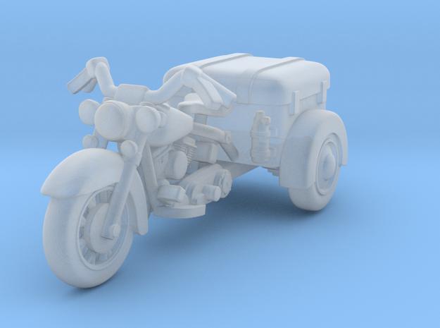 Police Harley Davidson Trike Survivor 1:87 HO in Smooth Fine Detail Plastic
