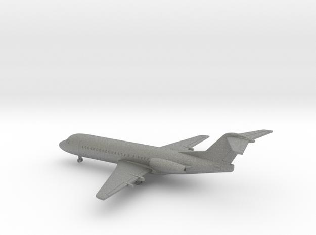 Fokker 70 in Gray PA12: 1:400