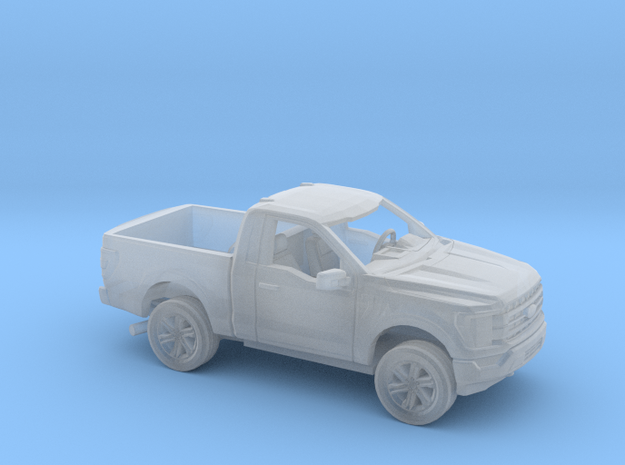 1/87 2021 Ford F150 Regular Cab Short Bed Kit in Smooth Fine Detail Plastic