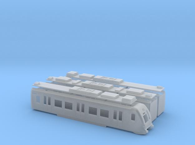Euskotren UT950 in Smooth Fine Detail Plastic: 1:120 - TT