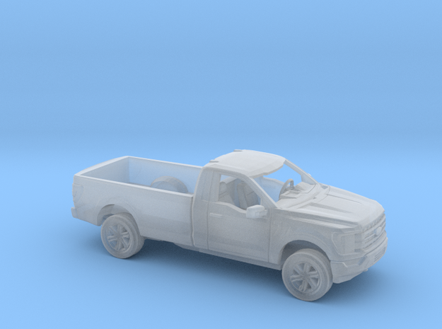 1/160 2021 Ford F150 Regular Cab Long Bed Kit in Smooth Fine Detail Plastic